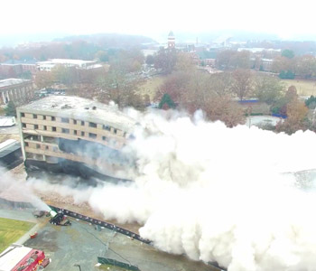 Top 10 of 2017: No. 9: Implosion levels Clemson House | Test