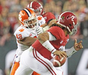 Clemson defense preparing for round three with Alabama | Test