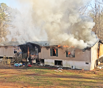Fire destroys family's home | Test