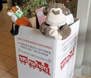 Toys for Tots giving deadline looms