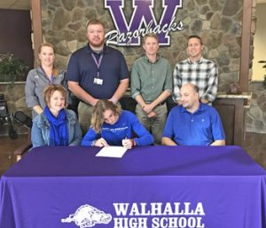 Walhalla's Whittle signs with SWU
