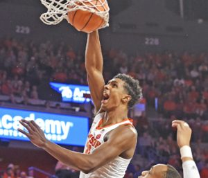 Clemson chasing first-ever win in Chapel Hill