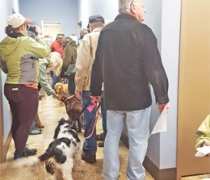 Humane society begins new year with pet care event