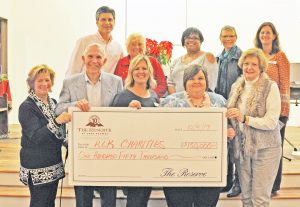 Reserve at Lake Keowee donates to charities | Test