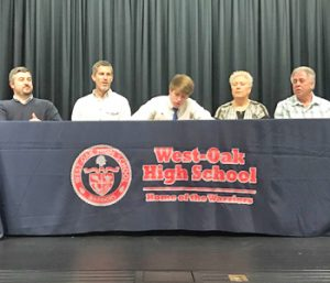 West-Oak's Nalley signs with Columbia International   Test