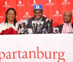 Zion Williamson commits to Duke | Test