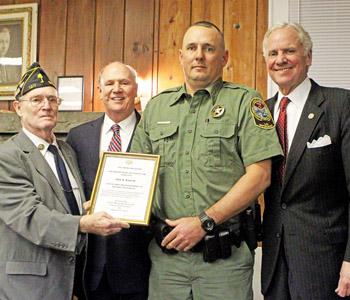 Martin named Oconee Officer of the Year
