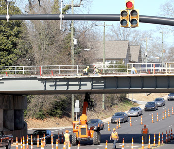 Clemson bridge replacement project reaches latest stage | Test