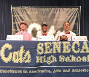 Seneca athletes ink to continue careers at college level | Test
