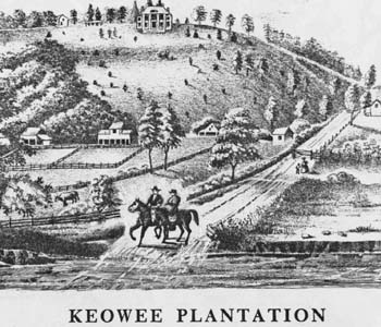 1790s Keowee Plantation: A shining antebellum castle on a hill | Test