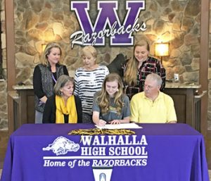 Walhalla volleyball star Norton signs with Brenau | Test