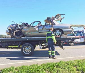 Woman airlifted after wreck | Test