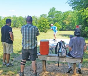 Central disc golf course set to host college qualifier | Test