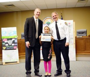 Northside student wins tornado safety poster contest