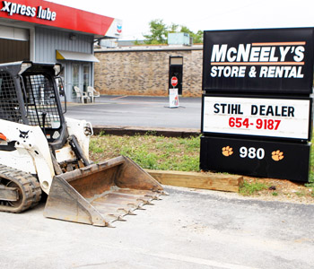 McNeely's Store and Rental showcases robotic mower | Test
