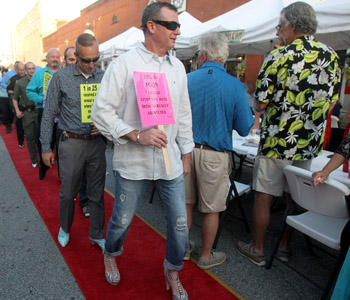 Walk a Mile in Her Shoes held Thursday | Test