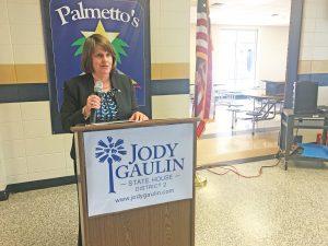 Democrat Gaulin challenging for Sandifer's SC House seat   Test