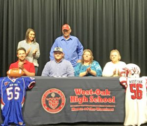 West-Oak's James inks with Presbyterian | Test