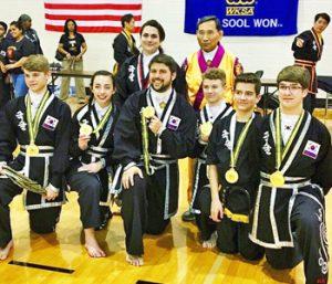 Clemson martial arts school wins awards