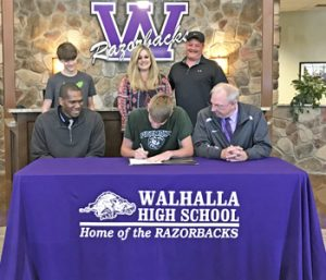 Walhalla's Cox inks with Piedmont | Test