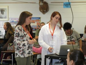 Seneca Middle School girls learn about engineering opportunities