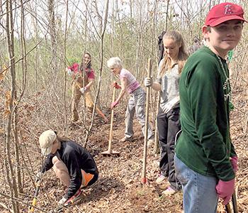 Walhalla High students create nature trail | Test