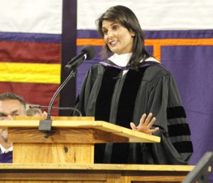 Haley urges Clemson graduates to pay it forward | Test