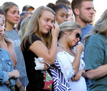 Community mourns teen killed after being swept over falls   Test