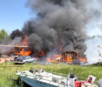 Fire destroys Central home, 5 vehicles | Test