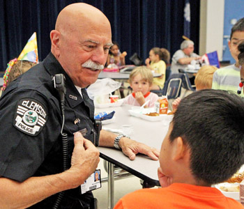 Retiree living the dream as Clemson Elementary resource officer | Test