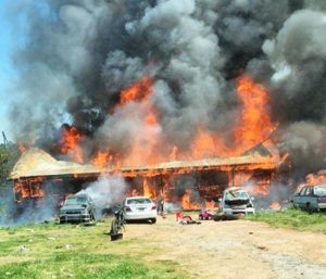 PCSO: No criminal activity in house fire
