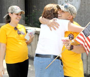 Marines, spouses arrive at Keowee Key