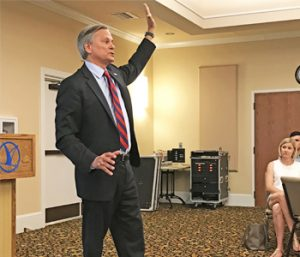 Attorney general candidate pledges to fight corruption during Oconee visit | Test