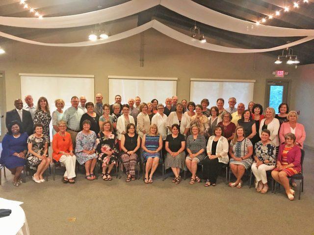 School District of Oconee County recognizes 70 retirees