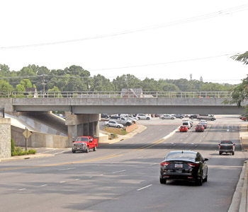 Long-running Clemson bridge project on schedule for completion next month
