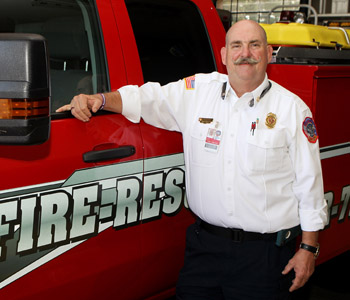Seneca fire chief Oliver marks final day on job
