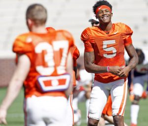 Tigers excited about depth at receiver, tight end | Test
