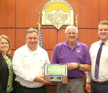 CAT recognized for clean transportation