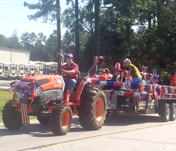 Tribble Center holds annual parade to kick off Fourth of July fun