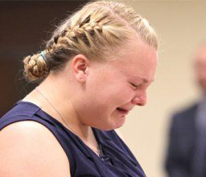 Woman sentenced in husband's death