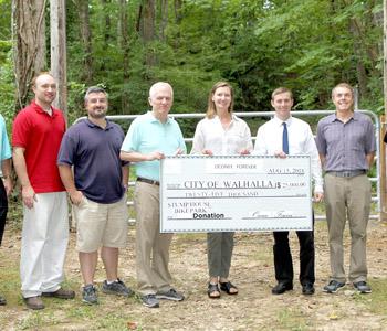 Stumphouse Park gets $25K donation