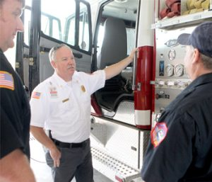 New chief wants firefighters involved in community