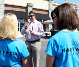 Ribbon cut on Hartwell Village Shopping Center | Test