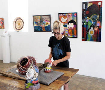 The Gateway Arts Center show will run until Oct. 19 | Test