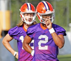 Tigers hold final scrimmage of fall camp