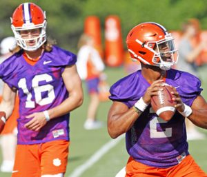 Clemson kicks off fall camp  with high morale | Test