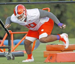 Fully healthy, Clemson's Lawrence primed for big season | Test