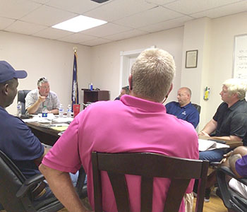 Rec leaders consider partnership   Test