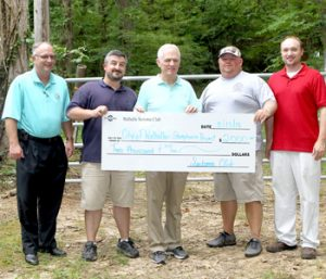 Sertoma Club donates festival proceeeds to local charities