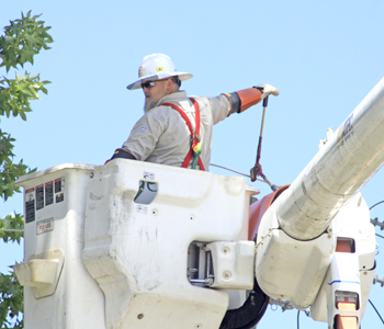 City starts second phase of electric system upgrades | Test